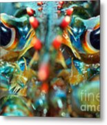 American Lobsters Metal Print