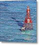 American Shoal Lighthouse Metal Print