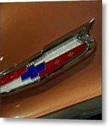 Chevrolet Hood Emblem Metal Print
