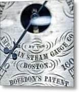 American Steam Gauge Metal Print