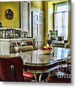 Americana - 1950 Kitchen - 1950s - Retro Kitchen Metal Print