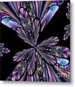Amethyst Affair Metal Print