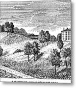 Amherst College, 1821 Metal Print