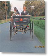 Amish Convertible Metal Print