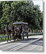 Amish Country - Intercourse Pennsylvania Metal Print