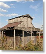 Amish Shed #3 Metal Print