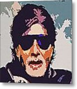 Amitabh Bachchan The Superstar Metal Print