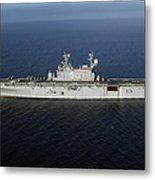 Amphibious Assault Ship Uss Peleliu Metal Print