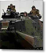 Amphibious Assault Vehicles Make Metal Print
