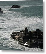 Amphibious Assault Vehicles Transit Metal Print
