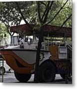 Amphibious Vehicle Used For Ducktour In Singapore Metal Print