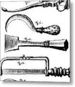 Amputation Instruments, 1772 Metal Print