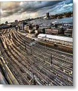 Amsterdam Central Station Metal Print