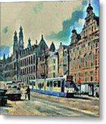 Amsterdam Tour  Streets 1 Metal Print