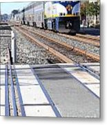 Amtrak Train 7d7317 Metal Print