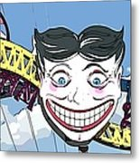 Amused Joker Metal Print