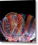 Amusement Park Metal Print