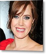 Amy Adams At Arrivals For Leap Year Metal Print by Everett