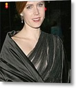 Amy Adams At Arrivals For The 2008 Metal Print