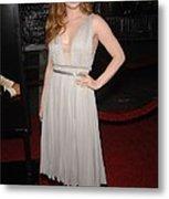 Amy Adams Wearing A J. Mendel Dress Metal Print by Everett