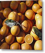 An Abundance Of Oranges Metal Print