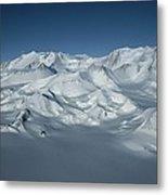 An Aerial View Of Mount Vinson Metal Print