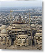 An Aerial View Of Saddam Hussiens Great Metal Print by Terry Moore