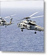 An Airborne Change Of Command Metal Print