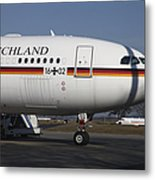 An Airbus 340 Acting As Air Force One Metal Print