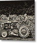 An American Farmer Metal Print
