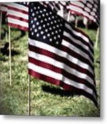 An American Flag Metal Print