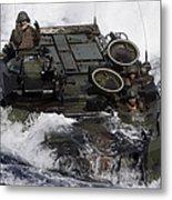 An Amphibious Assault Vehicle Metal Print