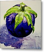 An Attractive Round Metal Print