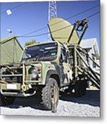 An Australian Defense Force Satellite Metal Print