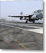 An Ea-6b Prowler Catapults Metal Print