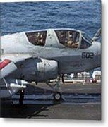 An Ea-6b Prowler During Flight Metal Print