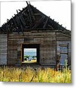 An Empty Barn  Metal Print
