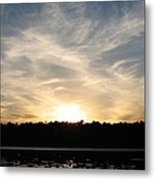 An Evening On The Water Metal Print