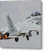 An F-15d Eagle Baz Aircraft Metal Print