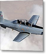 An Iraqi Air Force T-6 Texan Trainer Metal Print