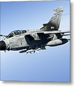 An Italian Air Force Tornado Ids Metal Print