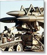 An Mim-23b Hawk Surface-to-air Missile Metal Print