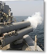 An Mk-46 Recoverable Exercise Torpedo Metal Print