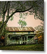 An Old Home Place Metal Print