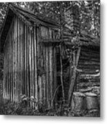 An Old Sauna Metal Print