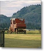 An Orginal Carriage And Other Equipment Metal Print
