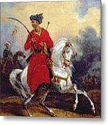 An Ottoman On Horseback Metal Print