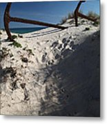 Anchor Beach 14 Metal Print