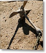 Anchored Until Morning Metal Print