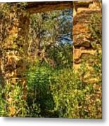 Ancient Doorway Metal Print